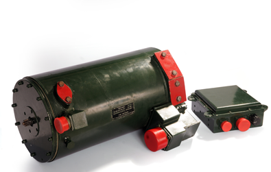 20 KW DC Brushless 2 Stage Generator Was Developed To Satisfy The Power Requirement Of An Armoured Tank